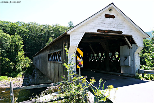 Dummerston Covered Bridge en Vermont