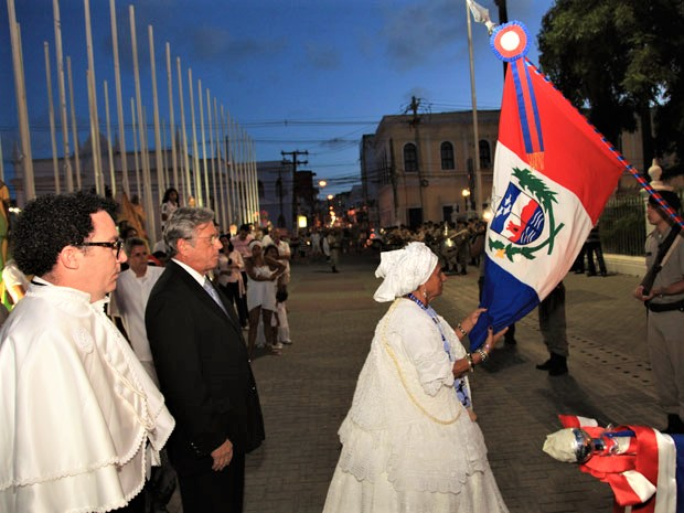 Governador Teotonio Vilela Pede Perdão Pelo Quebra de Xangô -01/02/2012