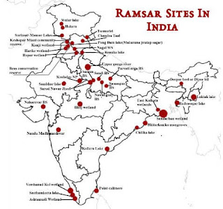 Ramsar Wetland Sites in India