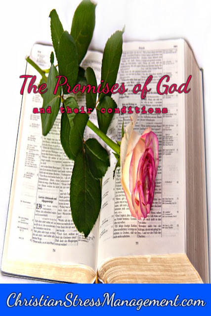 The promises of God and their conditions