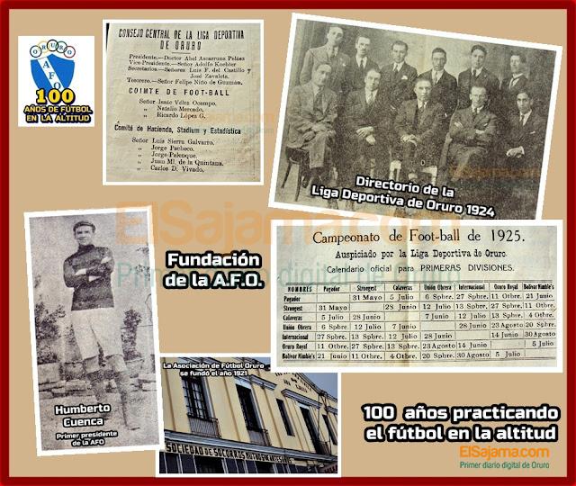 100 años de la AFO