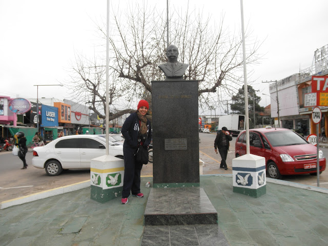 Divisa entre o Chui RS e o Chuy Uruguai