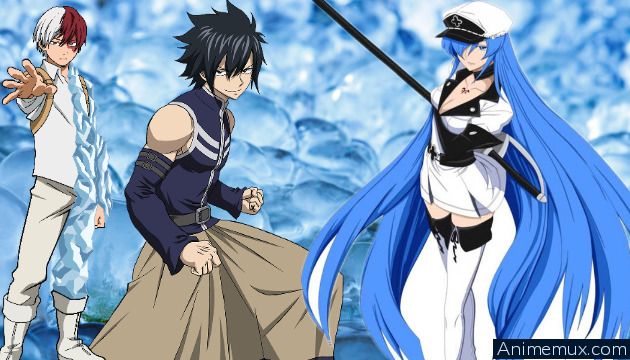 Five coolest ice user in anime series