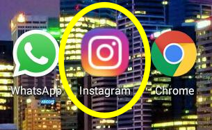 Como sair do Insta pelo aplicativo do celular