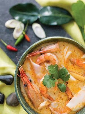 Lemongrass Soup with Shrimp & Young Coconut Recipe