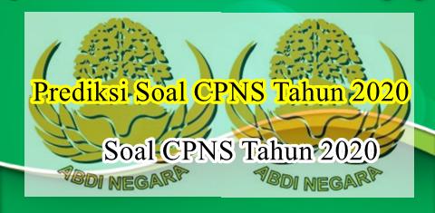 Prediksi Soal CPNS Tahap 1