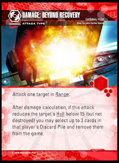 Attack type: Beyond Recovery