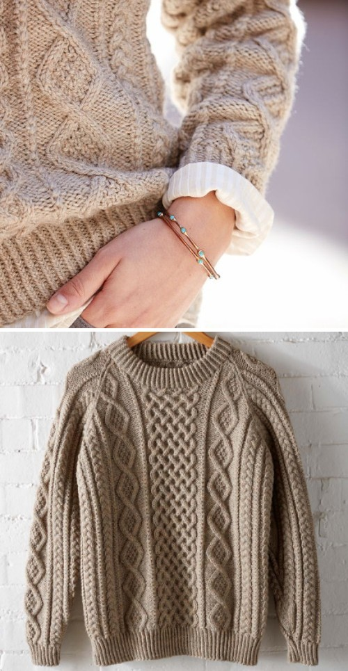Honeycomb Aran - Free Pattern