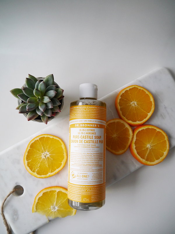 Dr. Bronner's 18-in-1 Citrus Pure Castile Soap