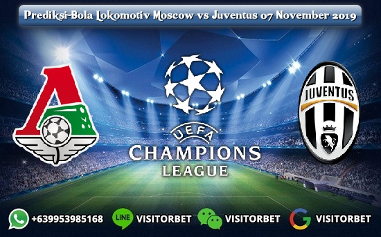 Prediksi Skor Lokomotiv Moscow vs Juventus 07 November 2019