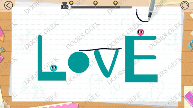 Love Balls Level 104 Cheats, Walkthrough, Solution 3 stars, for updated version