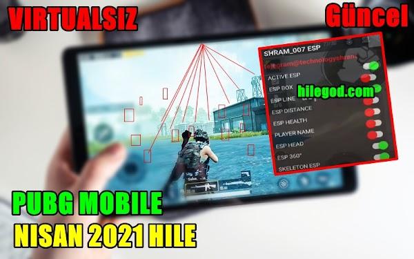Pubg Mobile Hile & Hack 2021 Virtual Yok Efsane Hile