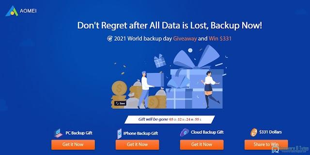 Offre promotionnelle : AOMEI Backupper Pro et AOMEI MBackupper Pro gratuits !
