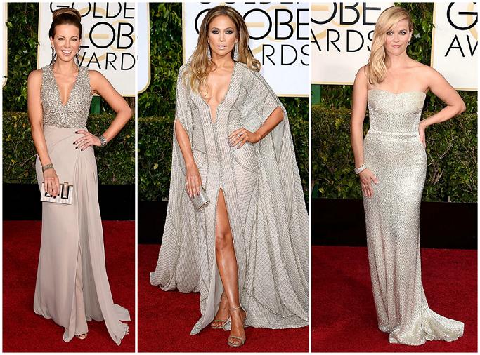 Kate Beckinsale at Golden Globes Red Carpet Jennifer Lopez at Golden Globes Red Carpet Reese Witherspoon in Calvin Klein at Golden Globes Red Carpet