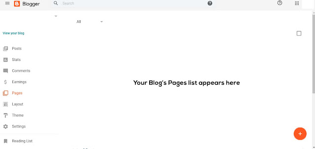 Now you have created your blog and your blogger profile will appear like Fig - 5