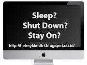 Pentingnya Mematikan Komputer dengan Shutdown
