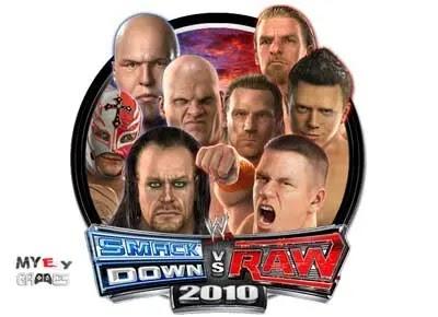 تحميل لعبة WWE Smackdown Vs Raw 2010 كاملة للكمبيوتر من ميديا فاير مضغوطة