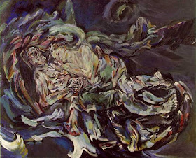 The Bride of the Wind or The Tempest, a self-portrait by Oscar Kokoschka expressing his unrequited love for Alma Mahler, 1914