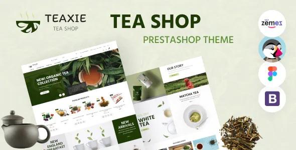Best Organic and Herbal Tea Store PrestaShop Theme