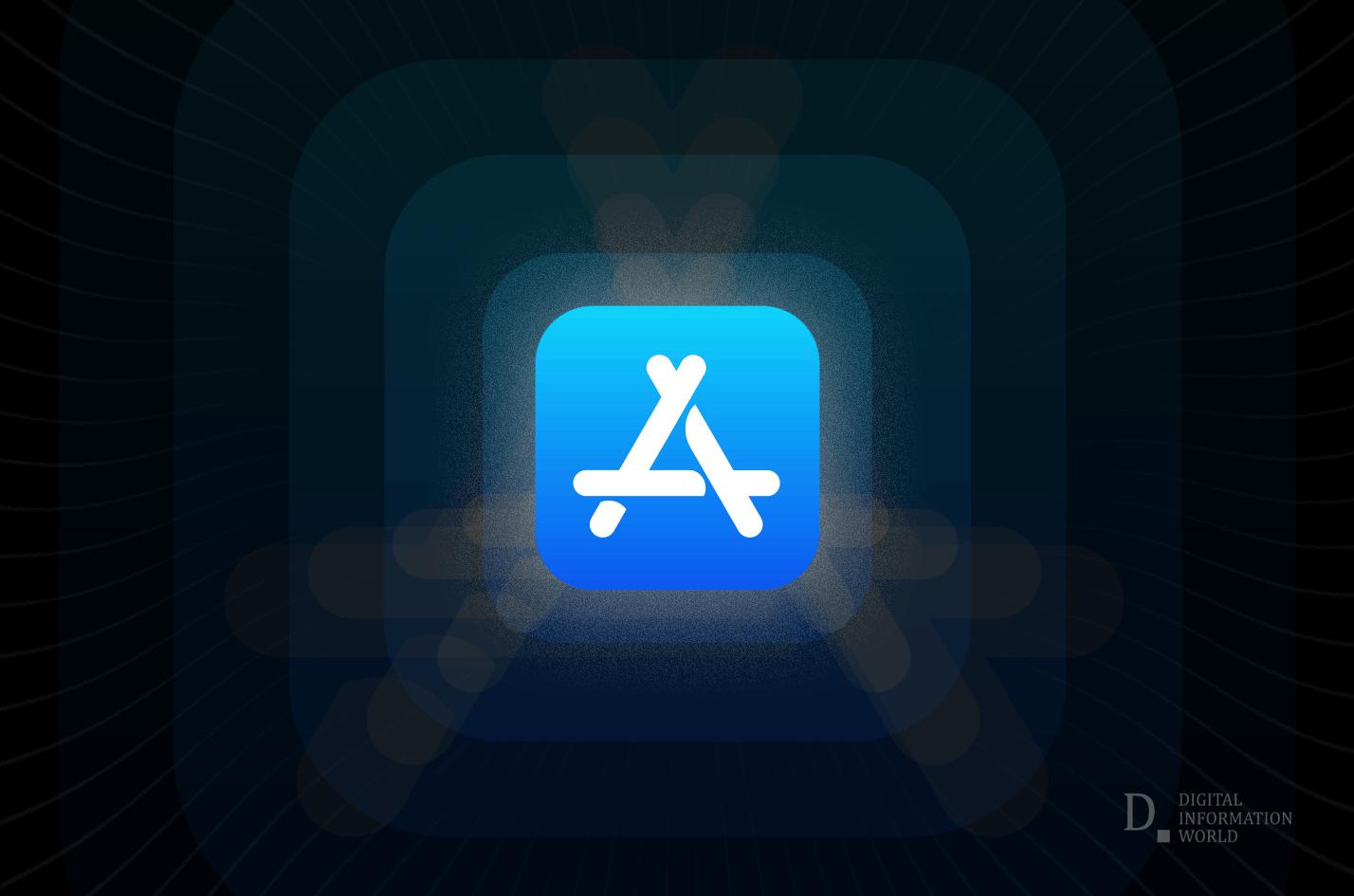 Apple app store graphic