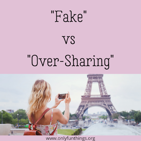 """""""Fake"""" vs """"Over-Sharing"""" - Where's the Line?"""