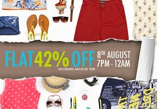Myntra Clearance Sale: Flat 42% Extra Off on Clothing / Footwear & Accessories (Hurry!! Valid till Today 12.00AM)