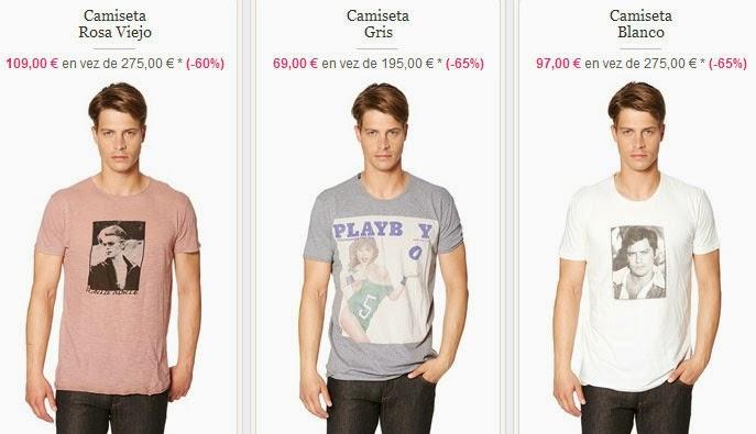 Camisetas para hombre de manga corta