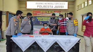 Usai Sudah Pelarian Jon Korong Ditangkap Tim Gabungan Polresta Kota Jambi Di Bengkulu