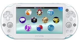 PSP vita slim warna putih