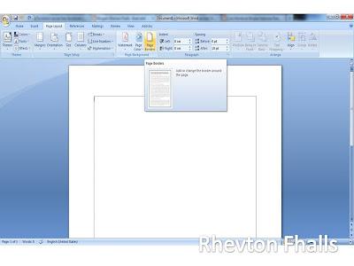 Cara Membuat Bingkai Di Microsoft Word 2007 2010 2013 Lengkap