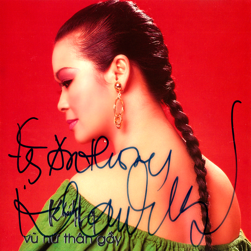 Khánh Ly CD - Vũ Nữ Thân Gầy (NRG) + bìa scan mới