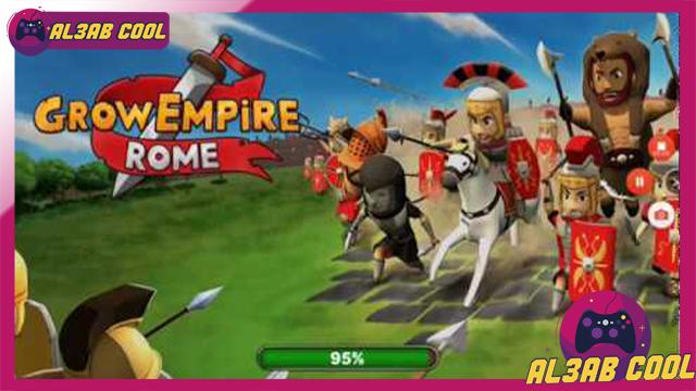 تحميل لعبة Grow Empire Rome MOD للأندرويد من الميديا فاير