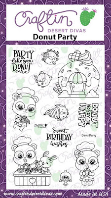 Donut Party Stamps