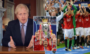Boris Johnson Gives Go-Ahead For Premier League Season To Resume Next Month
