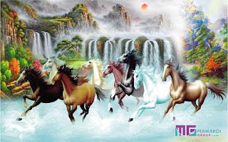 Wallpaper Custom Lukisan | Photowall Lukisan | Wallpaper Lukisan Kuda | Photowall Lukisan Kuda Keren