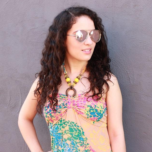 Srander Rose-Gold Sunglasses