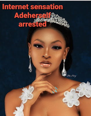 instagram youtube influencer ade herself arrested