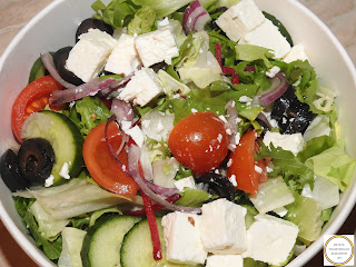 Greek salad recipe,