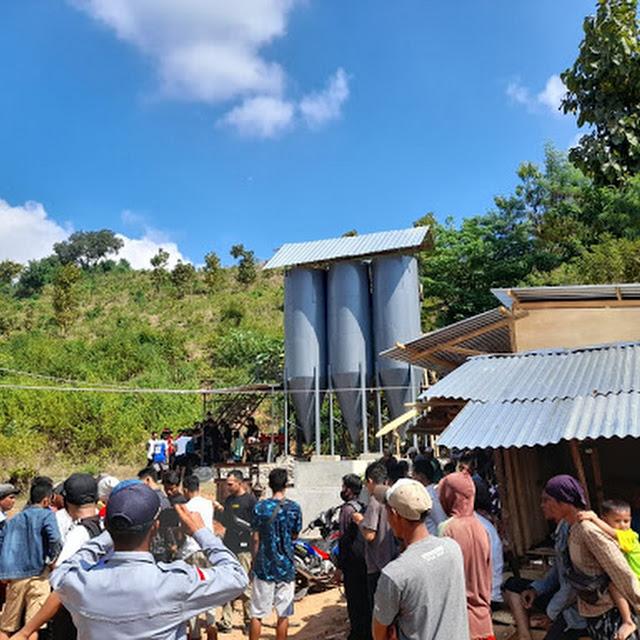 Tidak Berijin, Tambang Emas di Kecamatan Sape Didemo Masyarakat