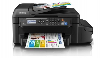 4. Epson EcoTank ET-4550 A printer that comes with two years' worth of ink