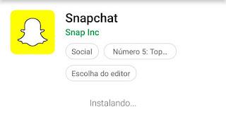 Como criar um Snapchat