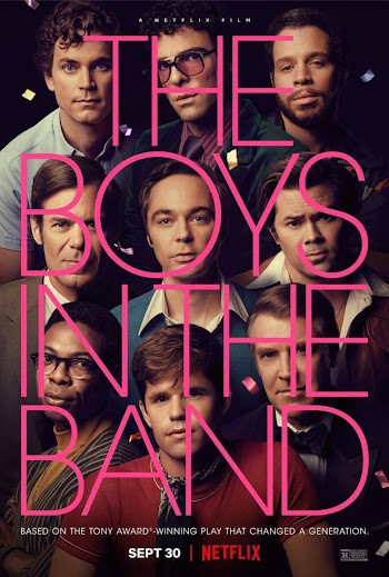 VER ONLINE Y DESCARGAR: The Boys in the Band - PELÍCULA GAY - EEUU - 2020 en PeliculasyCortosGay.com