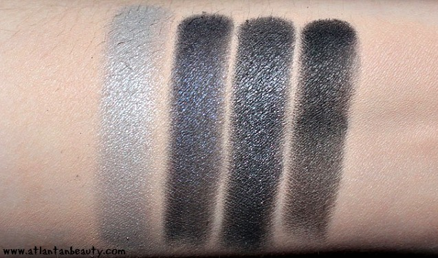 The Body Shop Down to Earth Eyeshadow Quad in Black