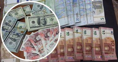 أستقرار في سعر الورقة الخضراء في بنك مصر اسعار العملات في ختام يوم الاحد 20-8-2017