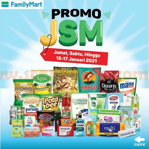 Katalog Promo JSM Family Mart Weekend 15 - 17 Januari 2021
