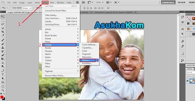 Cara Membuat Efek Sensor Dengan Photoshop
