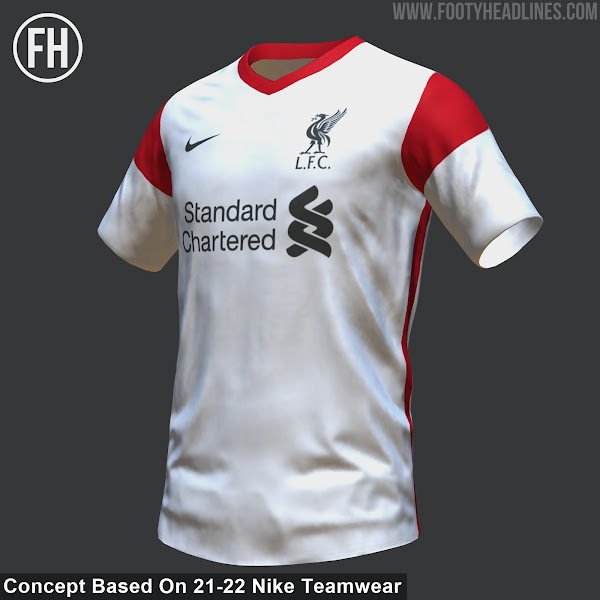 Nike Liverpool 21-22 Home, Away & Third Kits If Based On ...