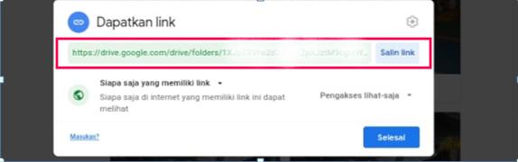 Cara Bagikan dan Buka Link Google Drive