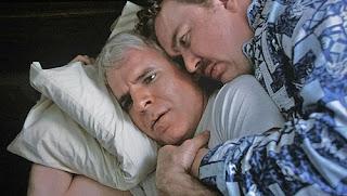 Steve Martin John Candy pillow scene