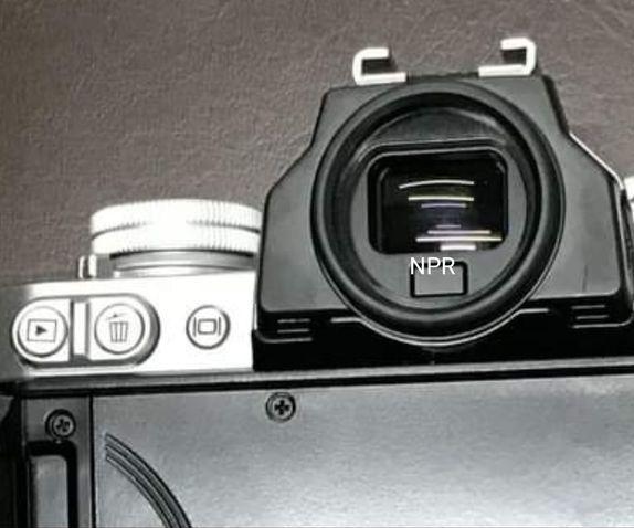 Видоискатель новой камеры Nikon